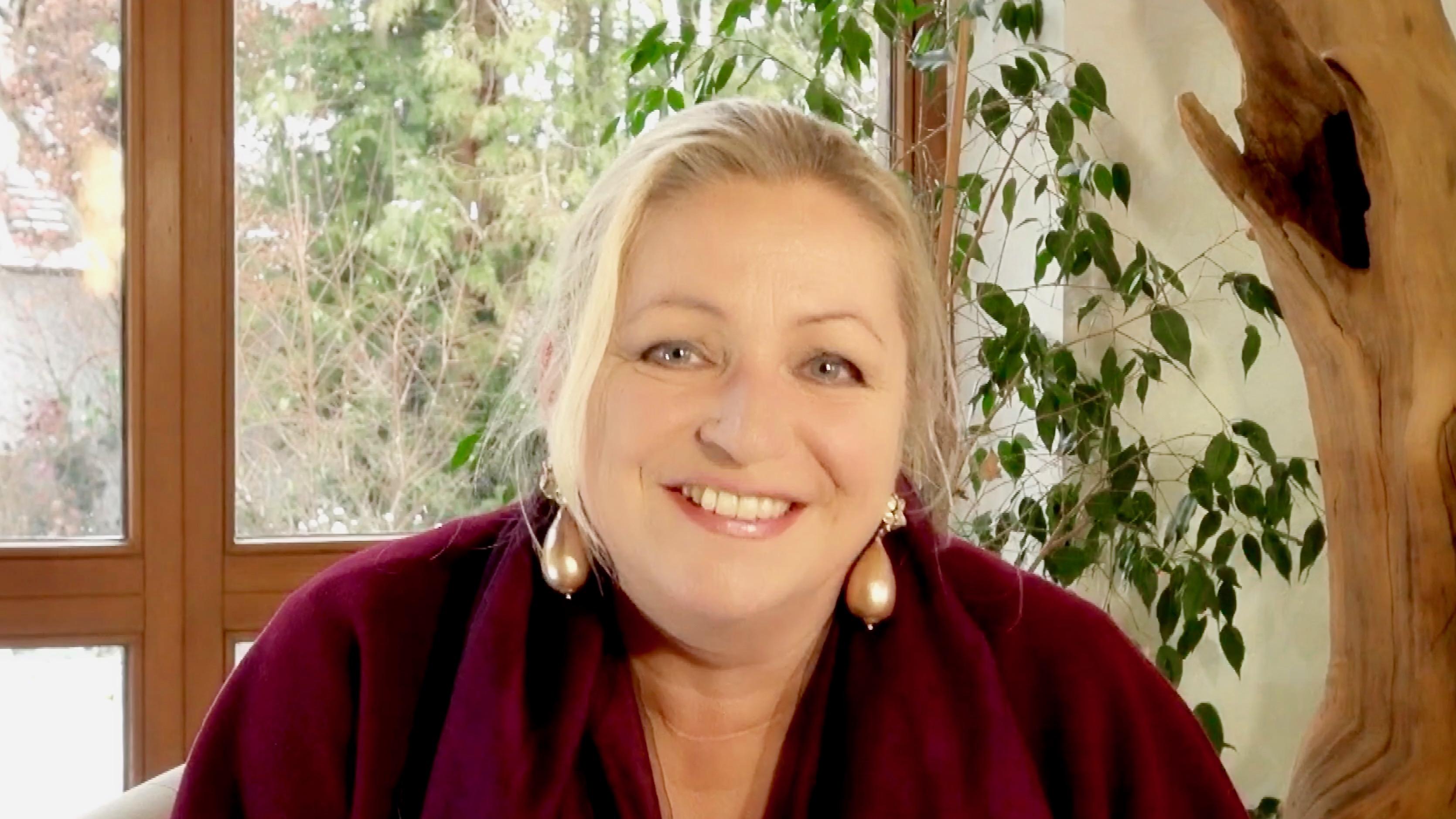 Moderatorin Tanja Mazurek